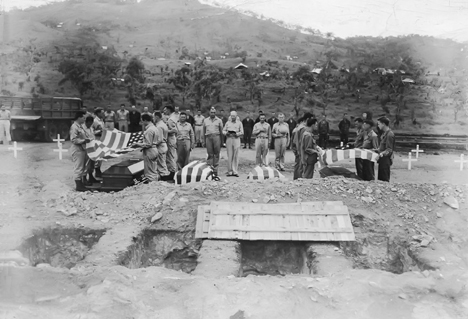 Port Moresby Funeral, 1943